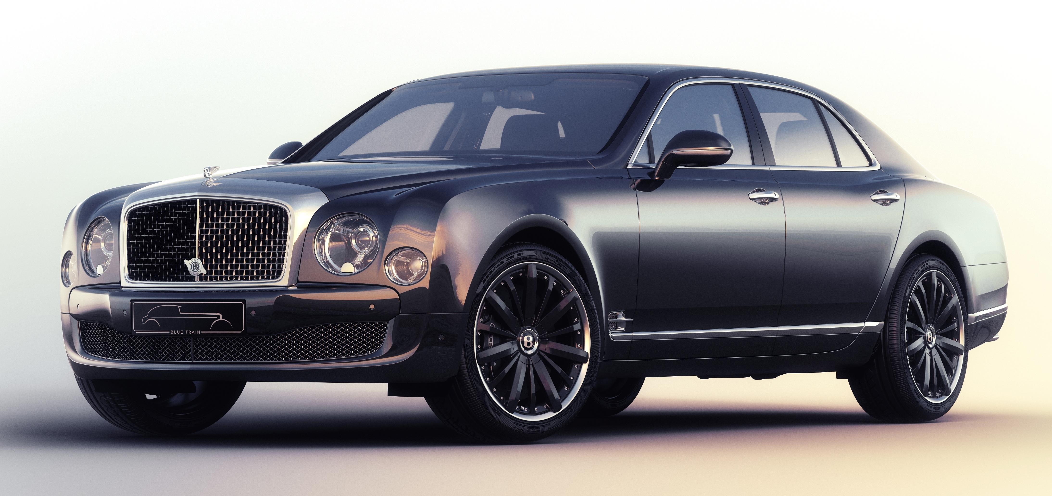 Bentley Mulsanne Speed Blue Train Just Four Built