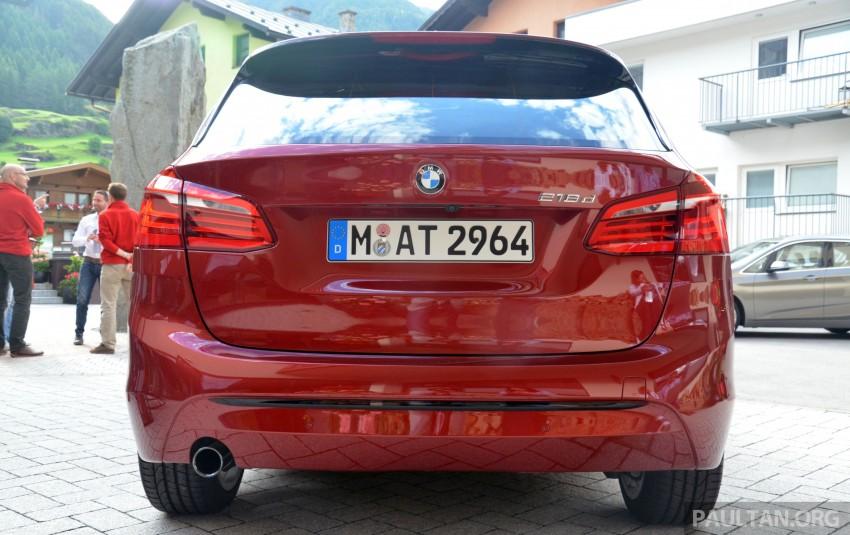 DRIVEN: F45 BMW 2 Series Active Tourer in Austria Image #328494