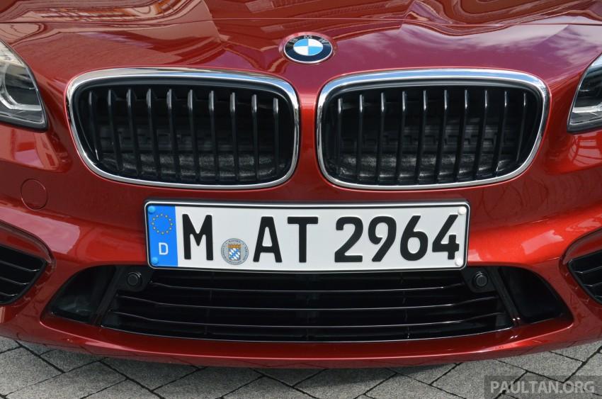 DRIVEN: F45 BMW 2 Series Active Tourer in Austria Image #328499