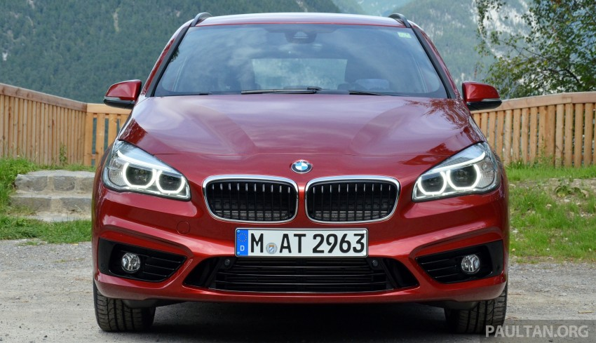DRIVEN: F45 BMW 2 Series Active Tourer in Austria Image #328503