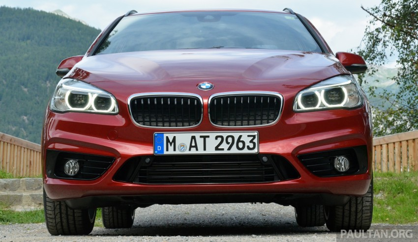 DRIVEN: F45 BMW 2 Series Active Tourer in Austria Image #328504
