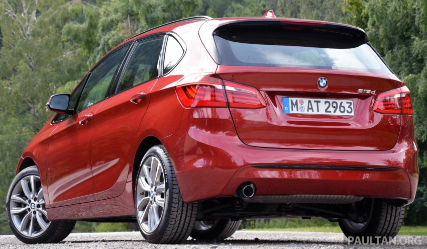 DRIVEN: F45 BMW 2 Series Active Tourer in Austria Image #328509