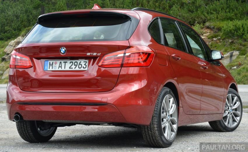 DRIVEN: F45 BMW 2 Series Active Tourer in Austria Image #328512