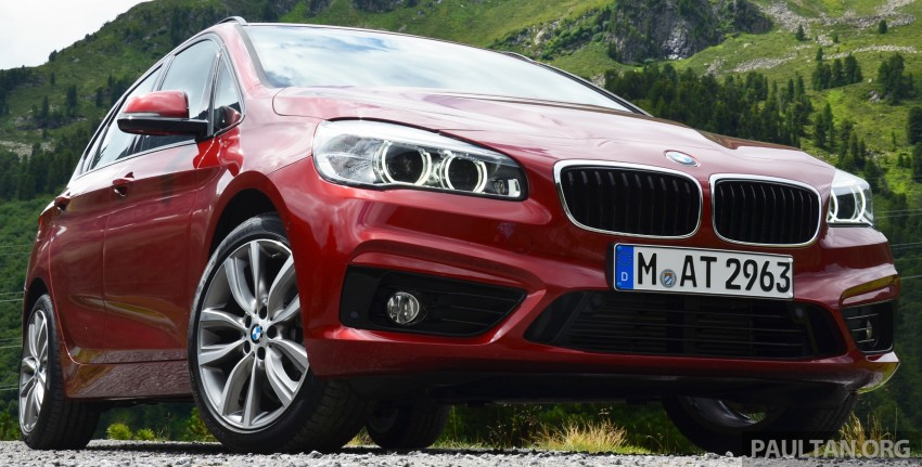DRIVEN: F45 BMW 2 Series Active Tourer in Austria Image #328517