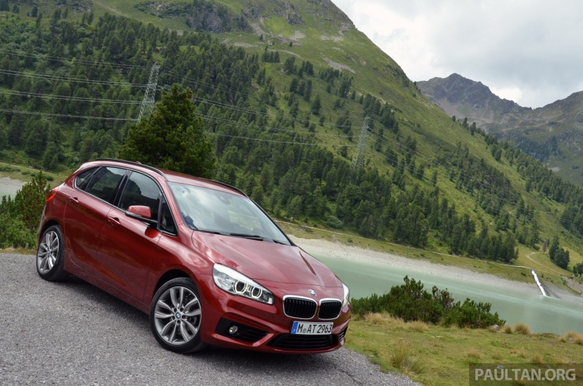 DRIVEN: F45 BMW 2 Series Active Tourer in Austria Image #328518