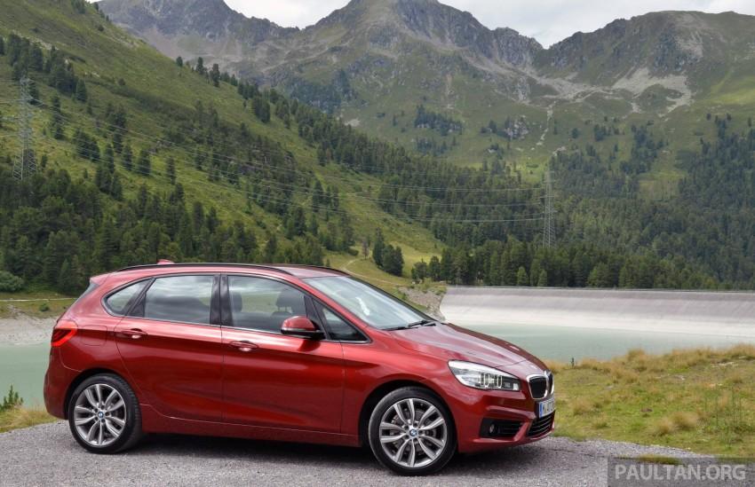 DRIVEN: F45 BMW 2 Series Active Tourer in Austria Image #328519
