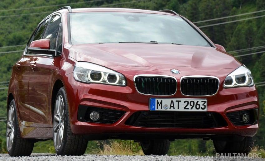 DRIVEN: F45 BMW 2 Series Active Tourer in Austria Image #328522