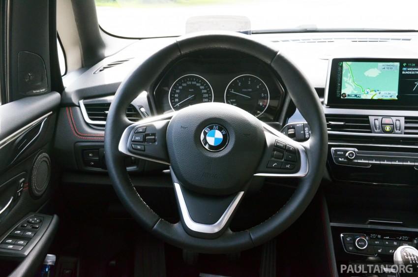 DRIVEN: F45 BMW 2 Series Active Tourer in Austria Image #328560