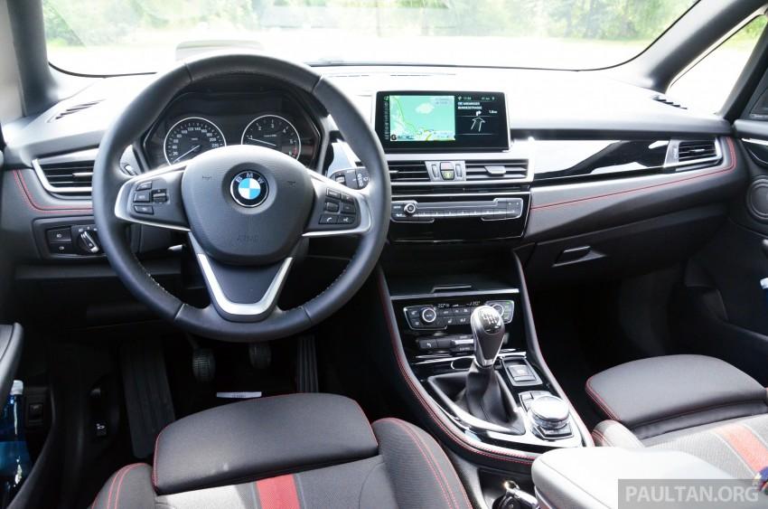 DRIVEN: F45 BMW 2 Series Active Tourer in Austria Image #328561
