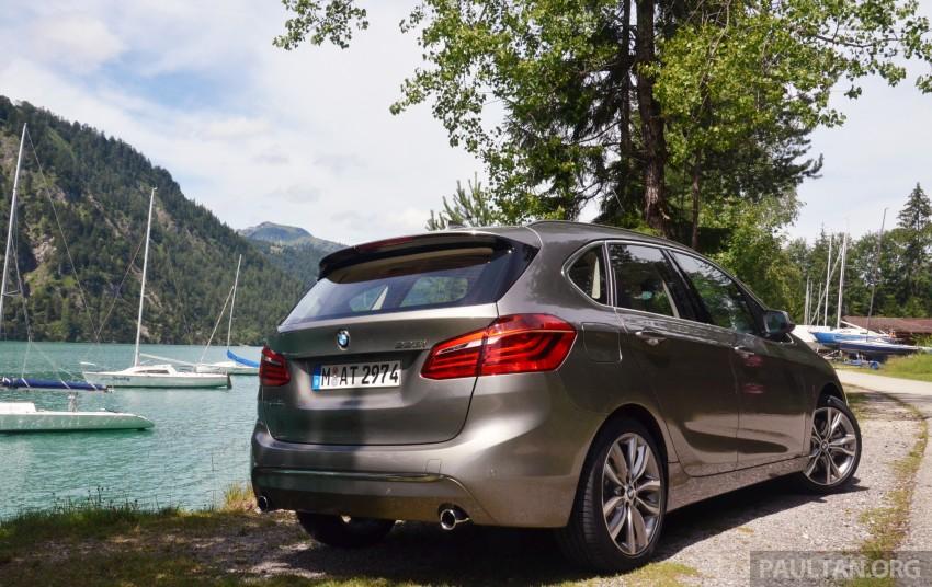 DRIVEN: F45 BMW 2 Series Active Tourer in Austria Image #328398