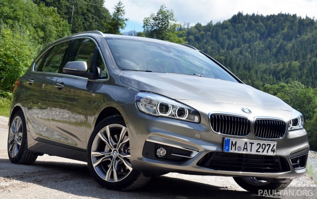 driven f45 bmw 2 series active tourer in austria. Black Bedroom Furniture Sets. Home Design Ideas