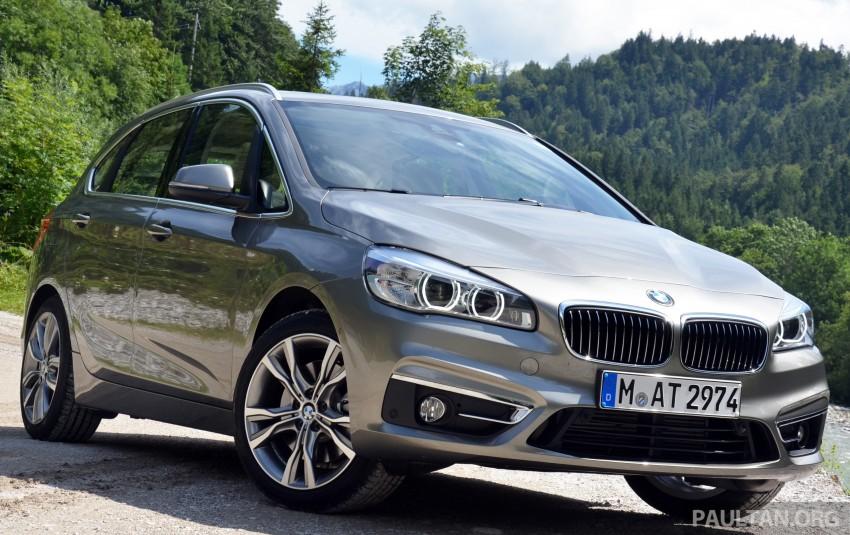 DRIVEN: F45 BMW 2 Series Active Tourer in Austria Image #328401