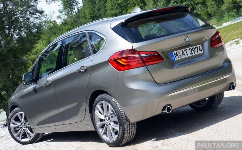 DRIVEN: F45 BMW 2 Series Active Tourer in Austria Image #328404
