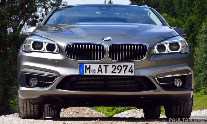 DRIVEN: F45 BMW 2 Series Active Tourer in Austria Image #328408