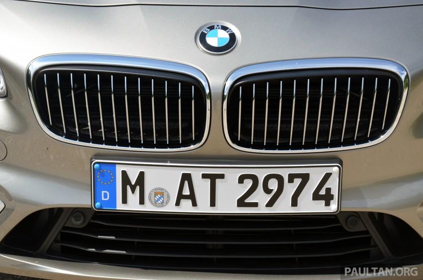 DRIVEN: F45 BMW 2 Series Active Tourer in Austria Image #328410