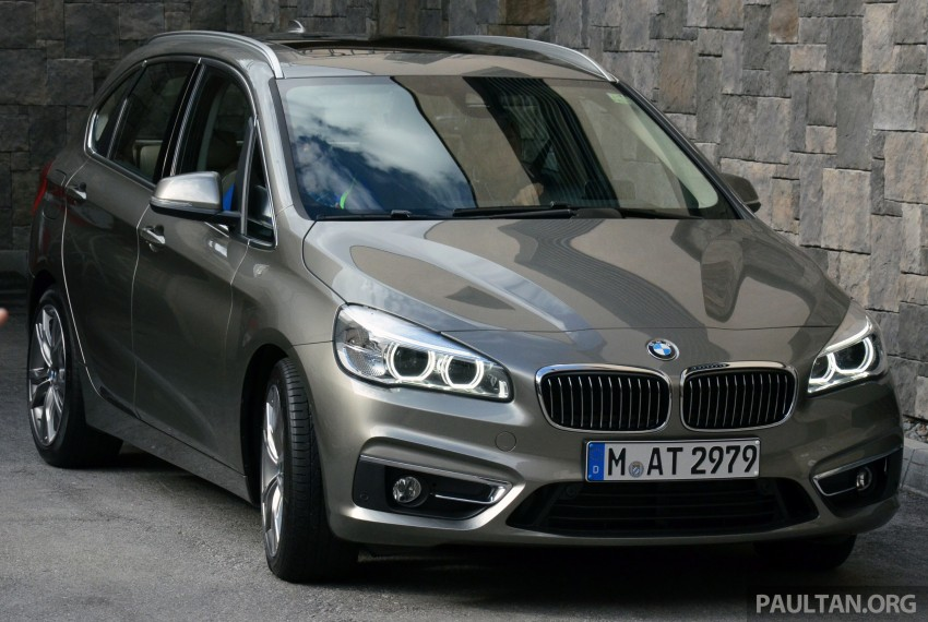 DRIVEN: F45 BMW 2 Series Active Tourer in Austria Image #328415