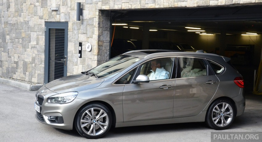 DRIVEN: F45 BMW 2 Series Active Tourer in Austria Image #328416