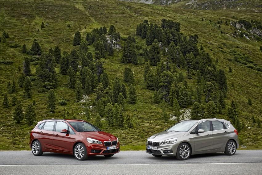 DRIVEN: F45 BMW 2 Series Active Tourer in Austria Image #328690