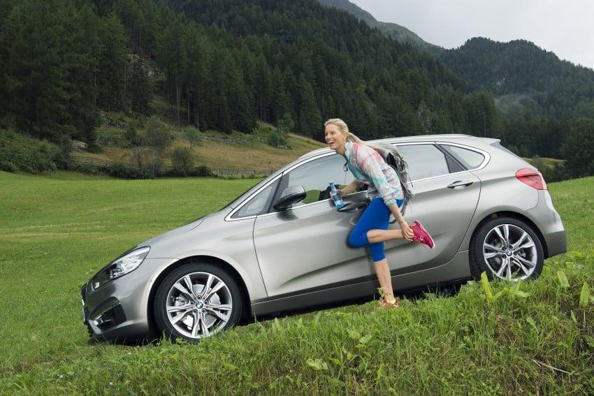 DRIVEN: F45 BMW 2 Series Active Tourer in Austria Image #328821
