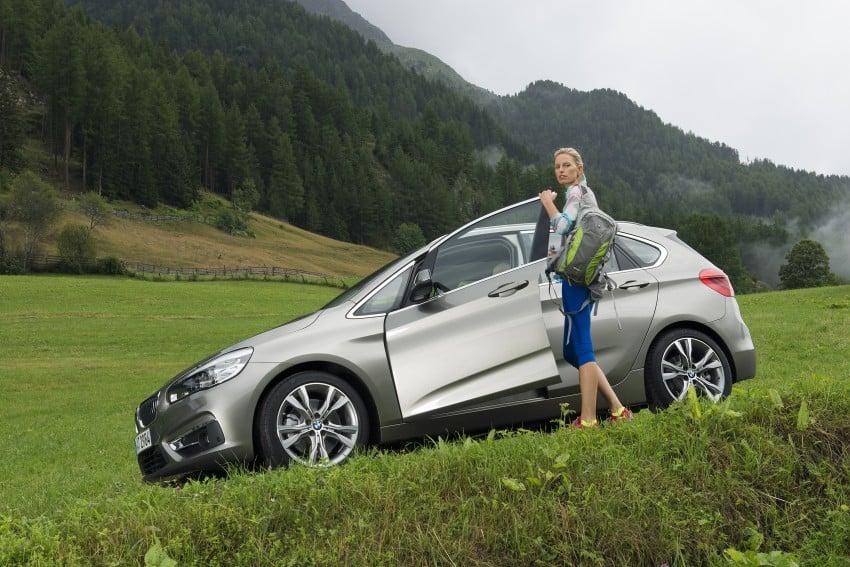 DRIVEN: F45 BMW 2 Series Active Tourer in Austria Image #328822