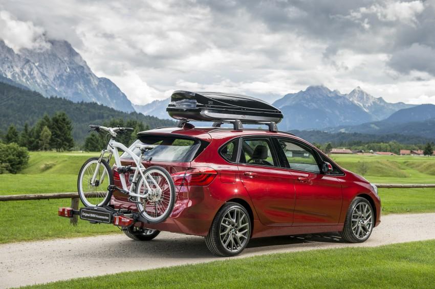 DRIVEN: F45 BMW 2 Series Active Tourer in Austria Image #328825