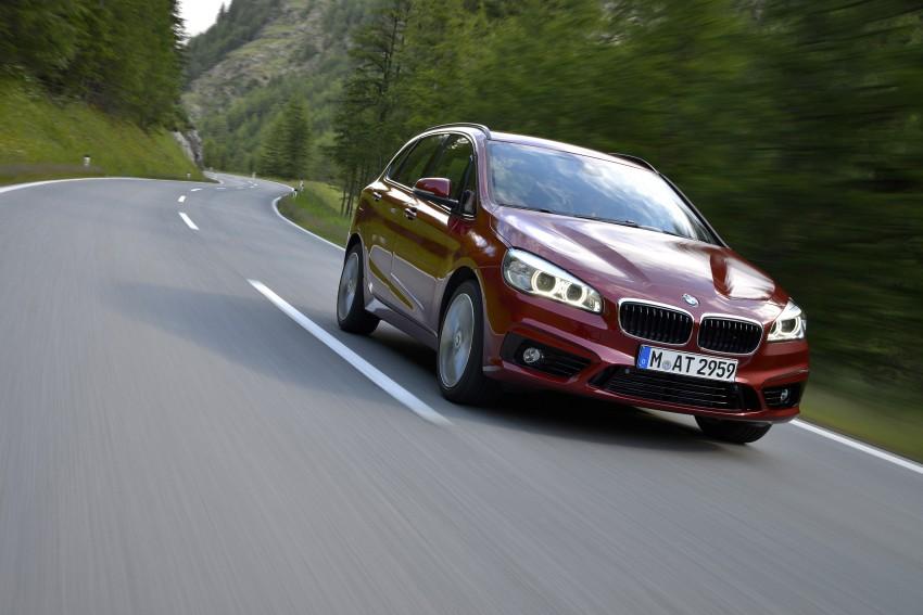 DRIVEN: F45 BMW 2 Series Active Tourer in Austria Image #328829
