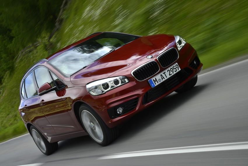 DRIVEN: F45 BMW 2 Series Active Tourer in Austria Image #328830