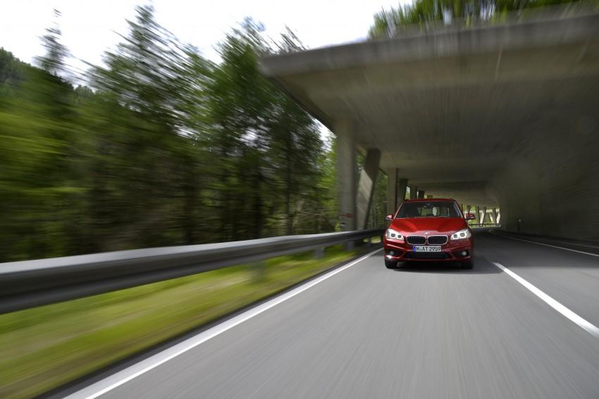 DRIVEN: F45 BMW 2 Series Active Tourer in Austria Image #328840