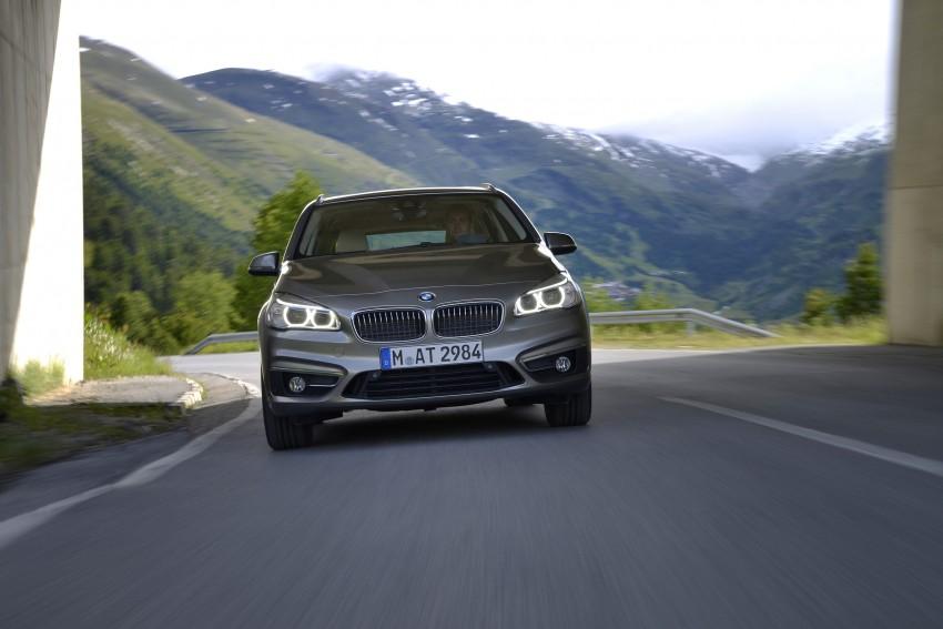 DRIVEN: F45 BMW 2 Series Active Tourer in Austria Image #328699