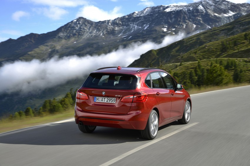 DRIVEN: F45 BMW 2 Series Active Tourer in Austria Image #328846