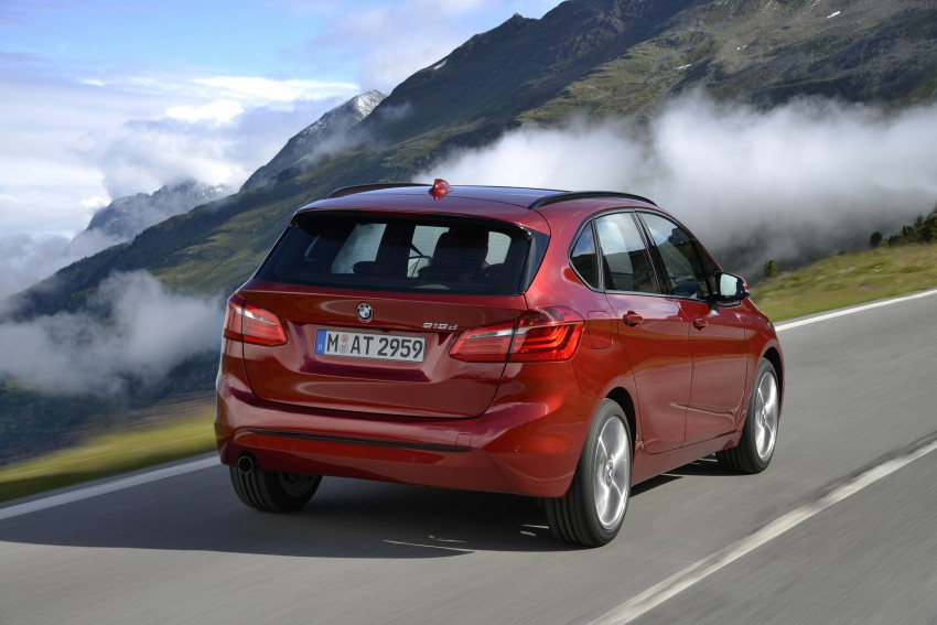 DRIVEN: F45 BMW 2 Series Active Tourer in Austria Image #328848