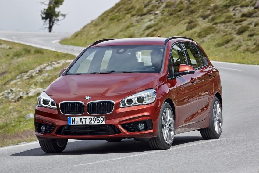 DRIVEN: F45 BMW 2 Series Active Tourer in Austria Image #328856
