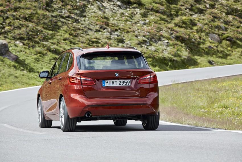 DRIVEN: F45 BMW 2 Series Active Tourer in Austria Image #328857