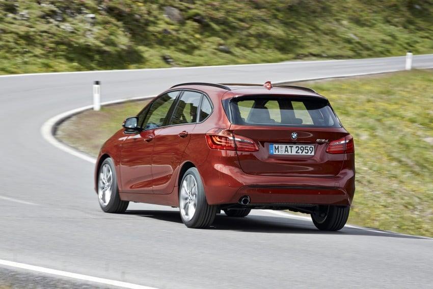 DRIVEN: F45 BMW 2 Series Active Tourer in Austria Image #328859