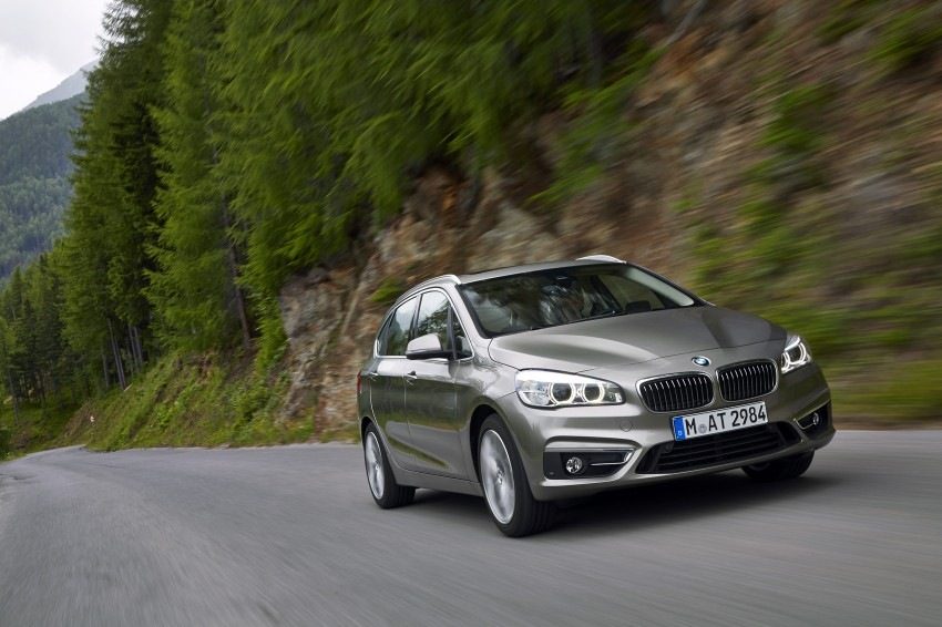 DRIVEN: F45 BMW 2 Series Active Tourer in Austria Image #328700