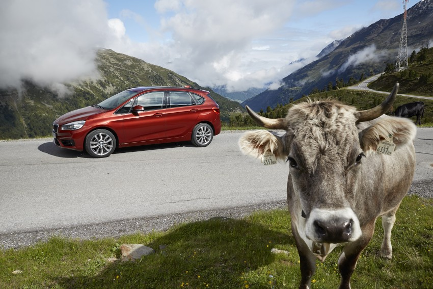 DRIVEN: F45 BMW 2 Series Active Tourer in Austria Image #328880