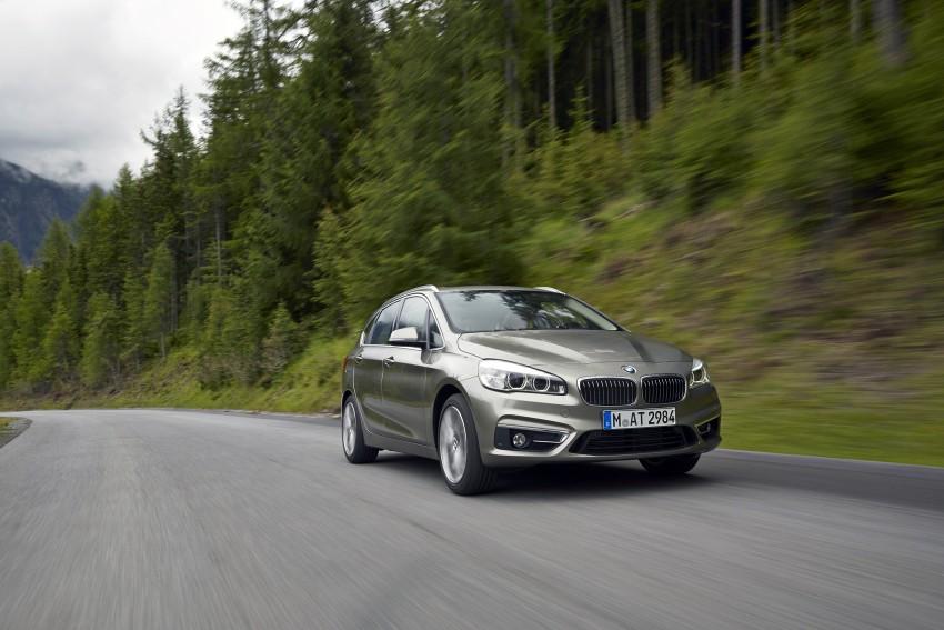 DRIVEN: F45 BMW 2 Series Active Tourer in Austria Image #328702