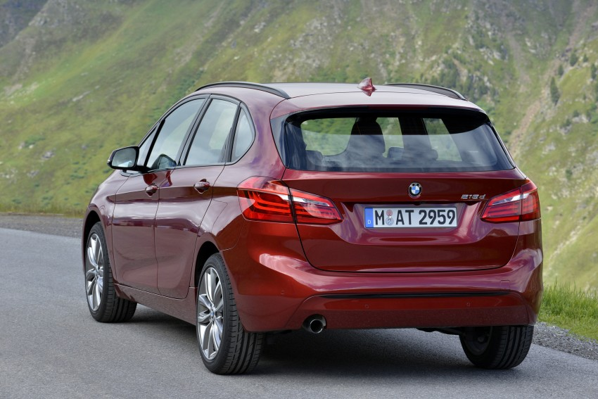 DRIVEN: F45 BMW 2 Series Active Tourer in Austria Image #328895