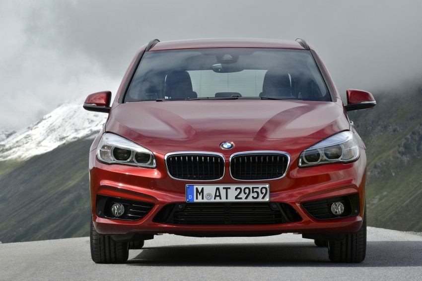 DRIVEN: F45 BMW 2 Series Active Tourer in Austria Image #328896