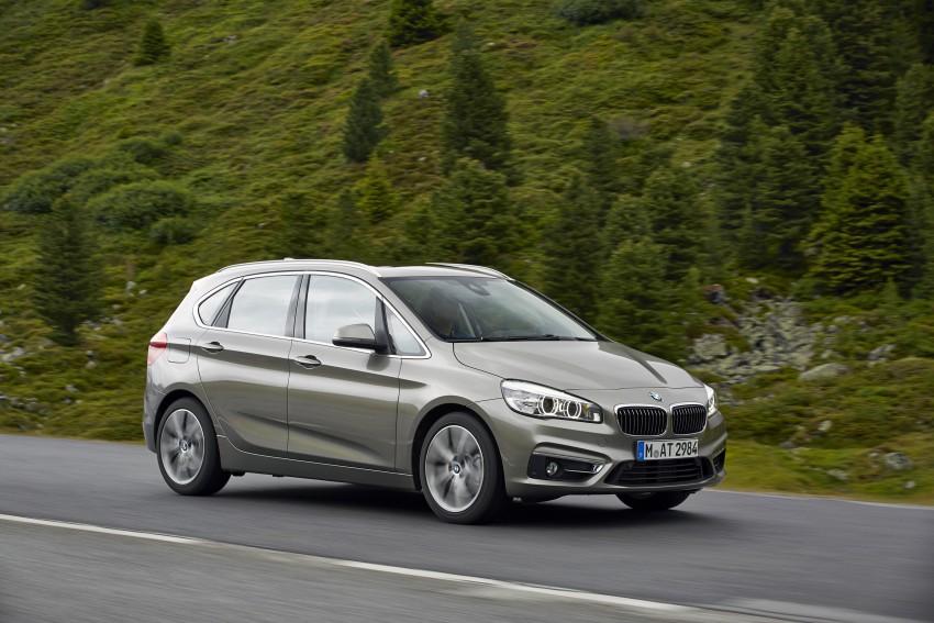 DRIVEN: F45 BMW 2 Series Active Tourer in Austria Image #328706