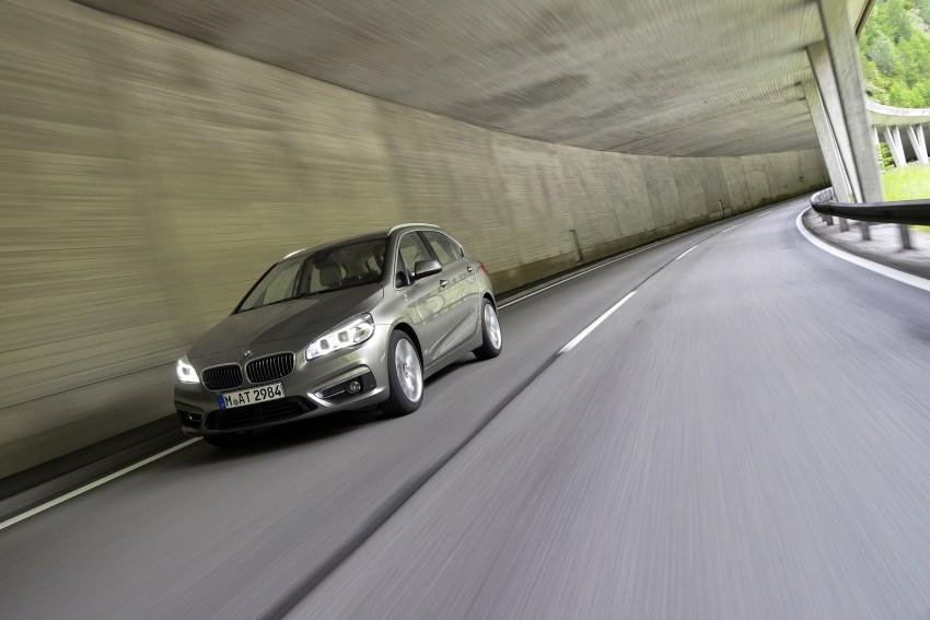 DRIVEN: F45 BMW 2 Series Active Tourer in Austria Image #328708