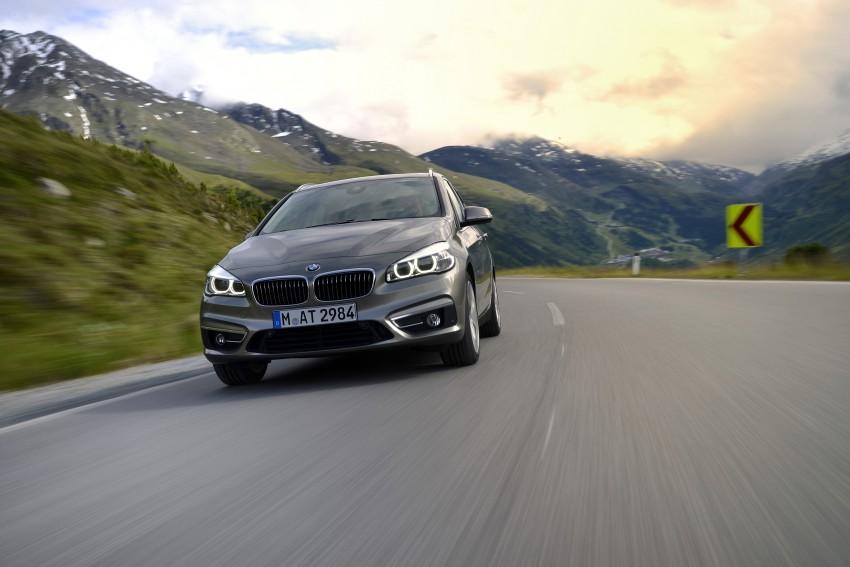 DRIVEN: F45 BMW 2 Series Active Tourer in Austria Image #328709