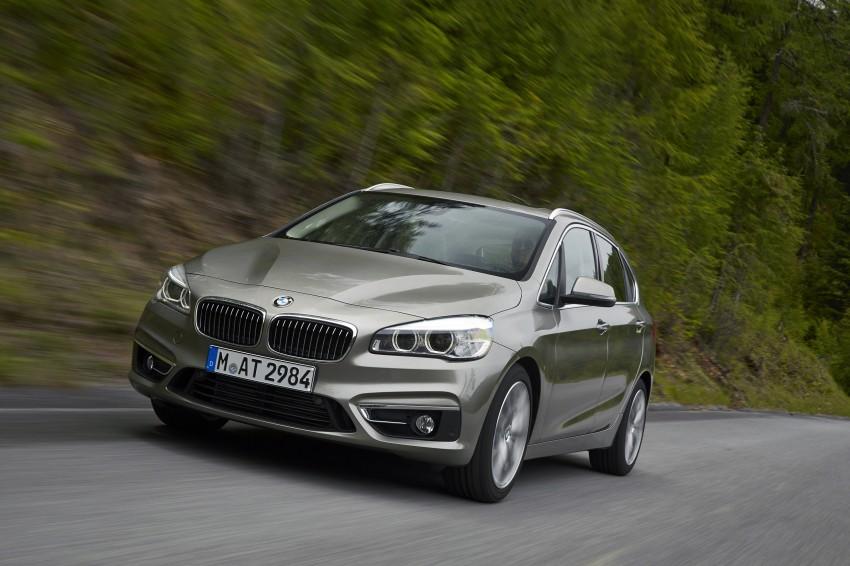 DRIVEN: F45 BMW 2 Series Active Tourer in Austria Image #328717
