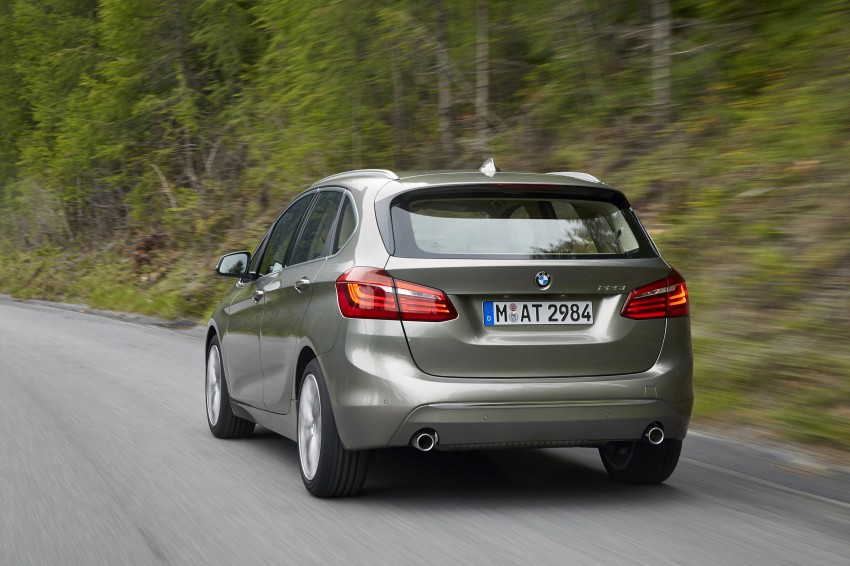 DRIVEN: F45 BMW 2 Series Active Tourer in Austria Image #328723