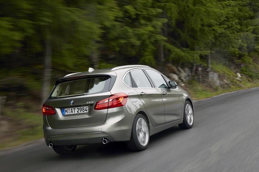 DRIVEN: F45 BMW 2 Series Active Tourer in Austria Image #328724