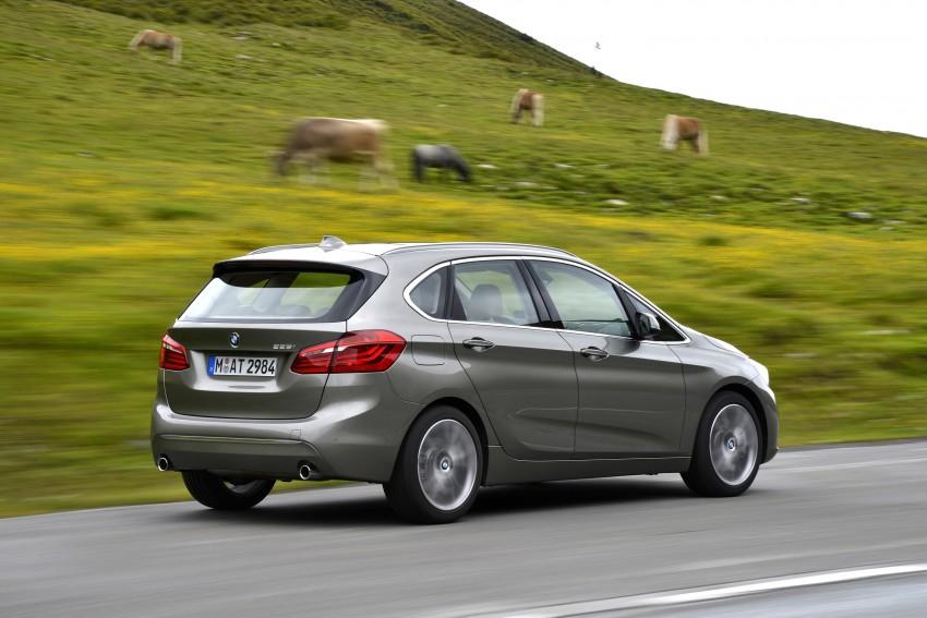 DRIVEN: F45 BMW 2 Series Active Tourer in Austria Image #328727