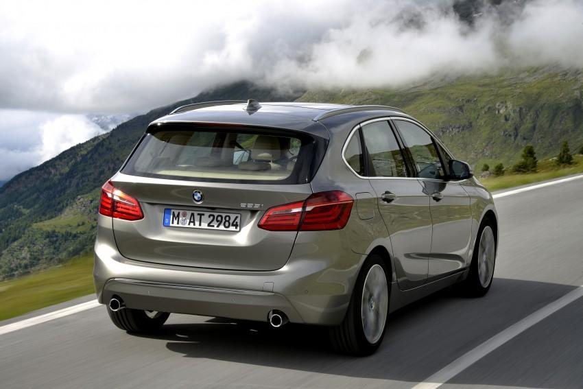 DRIVEN: F45 BMW 2 Series Active Tourer in Austria Image #328730