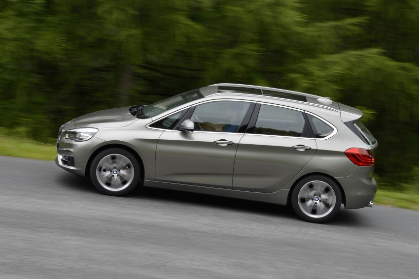 DRIVEN: F45 BMW 2 Series Active Tourer in Austria Image #328742