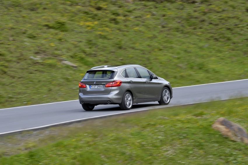 DRIVEN: F45 BMW 2 Series Active Tourer in Austria Image #328744