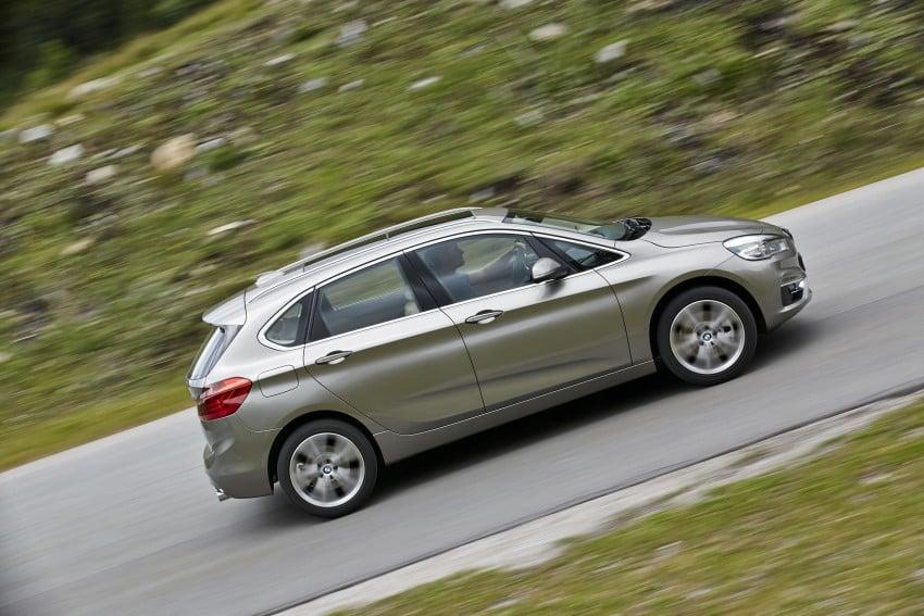 DRIVEN: F45 BMW 2 Series Active Tourer in Austria Image #328749